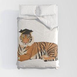 Graduation Tiger Comforters