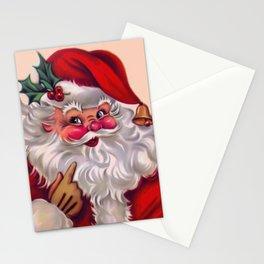 Cute vintage santa claus 2 Stationery Cards