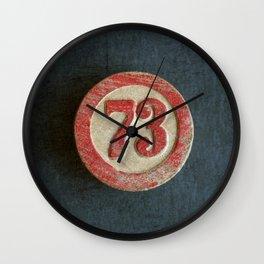 Seventy Three Wall Clock