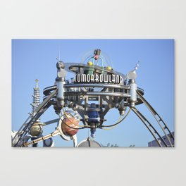 Here Stands Tomorrowland Canvas Print