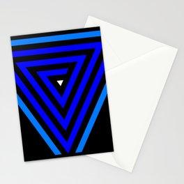 Vainessum - blue integration Stationery Cards
