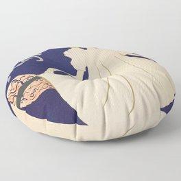 """Henri de Toulouse-Lautrec """"May Milton"""" Floor Pillow"""