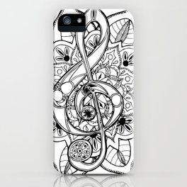 Music Of Life iPhone Case