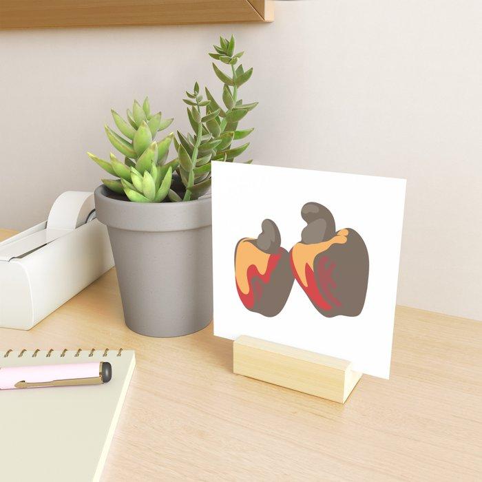 Cashew Fruit Mini Art Print
