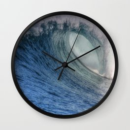 A Summers Wave Wall Clock