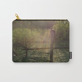 Peaceful Forest Bed Carry-All Pouch