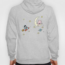 Martina & Anitram in the space Hoody