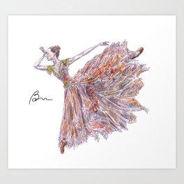 Isabella Boylston Art Print