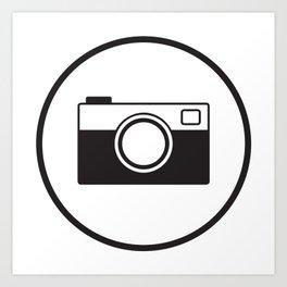 Tote Camera Art Print