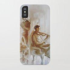 [ 221B ] Baker Street - sherlock holmes & john watson iPhone X Slim Case