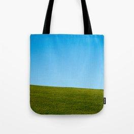 Grass and Sky Tote Bag
