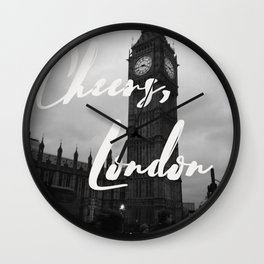 Cheers London Wall Clock