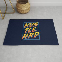 Hustle Hard Rug