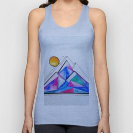 Rockies in the Abstract Unisex Tank Top