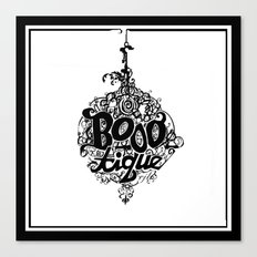 BOOO-tique! Canvas Print