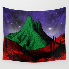 Painting in the Dark Wall Tapestry