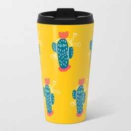 Walking Cactus Travel Mug