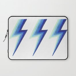 Blue Bolts Laptop Sleeve