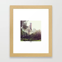 NYC Central Park Framed Art Print