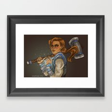 Lady Kima Framed Art Print