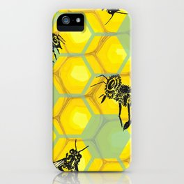None of Your Beeswax iPhone Case