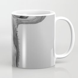 Moose Drawing Coffee Mug
