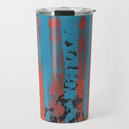 tattered remnants. Travel Mug