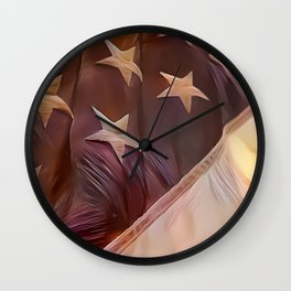 America II Wall Clock