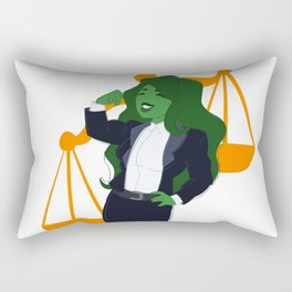 Judge, Jury, and Executioner Rectangular Pillow