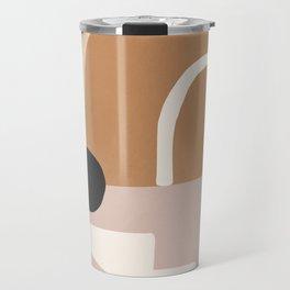 abstract minimal 24 Travel Mug