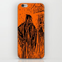 The Ghost at the Door iPhone Skin