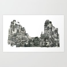 The Machine II Art Print