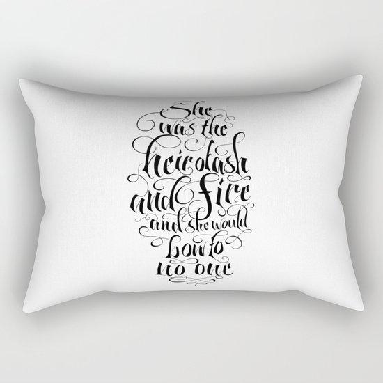 Heir of Ash and Fire Rectangular Pillow