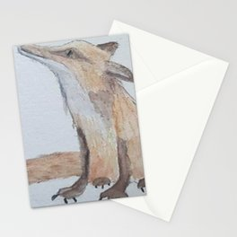Fox on the run Stationery Cards