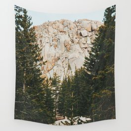 Rocky Mountain Grandeur Wall Tapestry