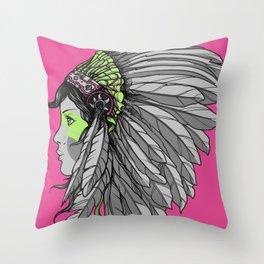 Warrior 3 Throw Pillow
