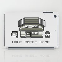 home sweet home iPad Cases featuring Home Sweet Home  by Zeke Tucker
