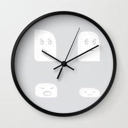 Mr. Eraser Wall Clock