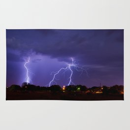 New Mexico Lightning Rug