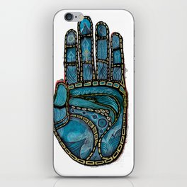 The Hand Of (Free)Time iPhone Skin