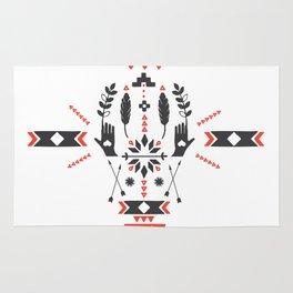 Norwegian Folk Graphic Rug