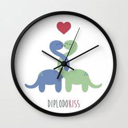 Diplodokiss Wall Clock