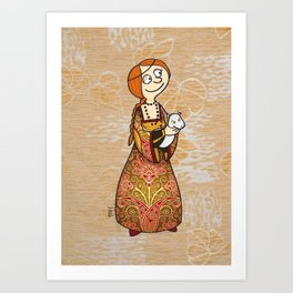 My own Cecile Art Print