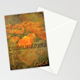 Cup of Gold - The California Poppy Stationery Cards