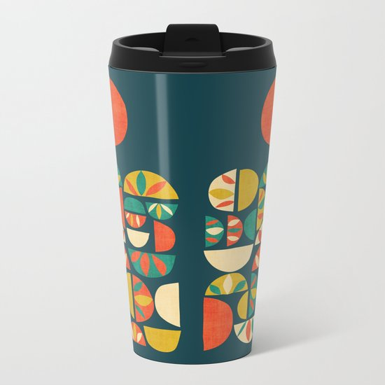 Jumpy Hills Metal Travel Mug