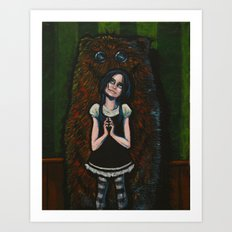 Somebody needs a hug Art Print