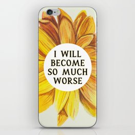 Cruel Prince: SO MUCH WORSE by Holly Black iPhone Skin