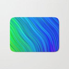 stripes wave pattern 1 stdv Bath Mat