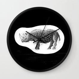 Philipp Martins Rhino Wall Clock