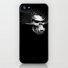 Troll Skull iPhone Case